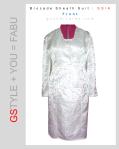 GSIA Brocade Sheath Suit