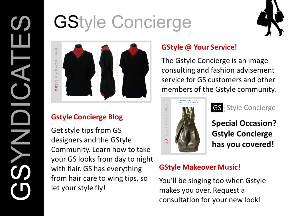 GSyndicates Business Overview: GStyle Concierge