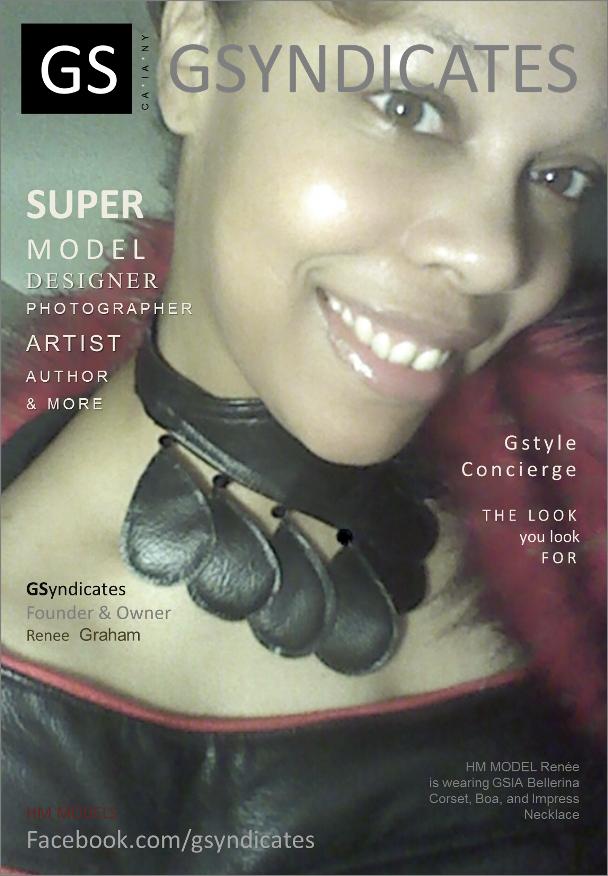 GSyndicates Founder, Shenica Graham on the cover of GSyndicates Magazine